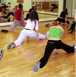 Снижение веса на танцах